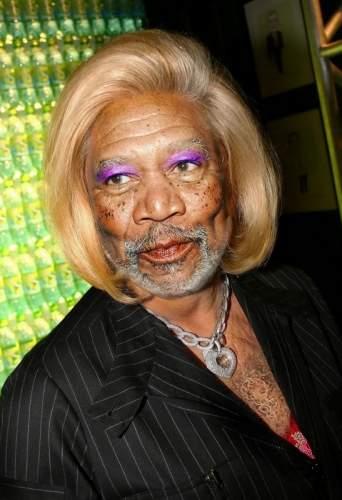 La hermana de Morgan Freeman / Morgan Freeman's Sister