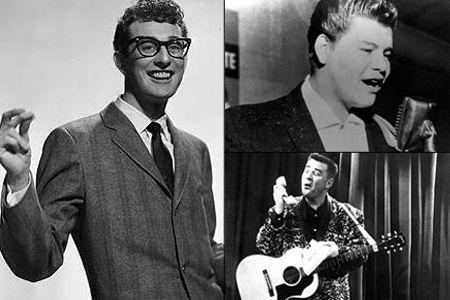 Hoy recuerdo a / Today I remember - Buddy Holly, Ritchie Valens, The Big Bopper