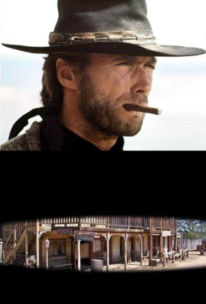 Cómo ve el mundo a Clint Eastwood Vs Cómo ve Clint Eastwood el mundo / How The World Sees Clint Eastwood Vs How Clint Eastwood Sees The World