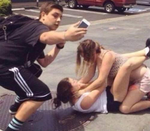 El selfie perfecto / The perfect selfie