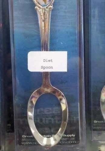 Cuchara para dieta / Diet spoon
