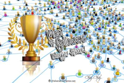 More Followers Blogger Award