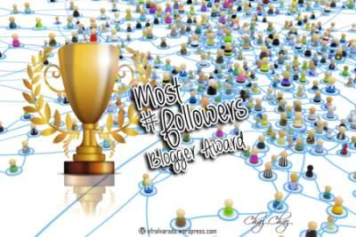 More Followers Blogger Award