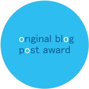 Original Blog Post Award