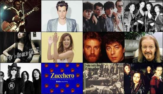 Mis 12 canciones favoritas (septiembre 2017) - My 12 favorite songs ( September 2017)