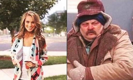 Otras chicas este invierno vs. Yo este invierno / Other girls this winter vs. Me this winter