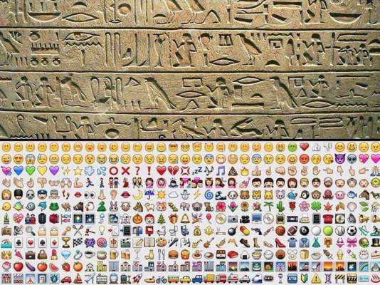 4000 años después volvemos a hablar el mismo idioma / 4000 years later and we're back to the same language