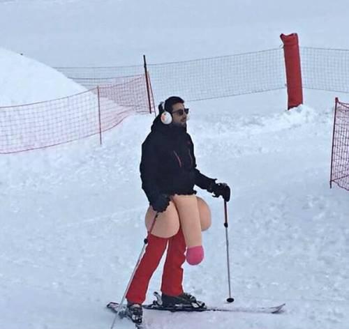 Cuando tu atuendo define tu estilo de esquí / When your outfit defines your skiing style