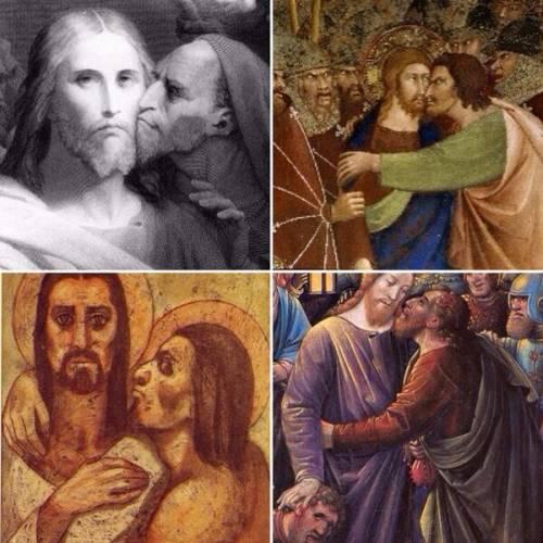 Creo que el mayor crimen de Judas fue no entender nunca el espacio personal / I think Judas's biggest crime was never understanding personal space