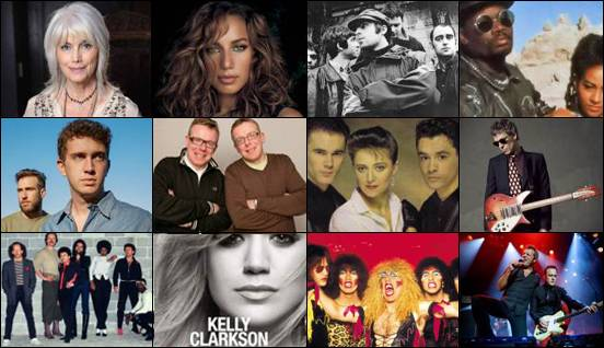 Mis 12 canciones favoritas (abril 2018) - My 12 favorite songs (April 2018)
