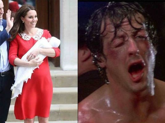 Kate Middleton después de dar a luz vs. Yo después de dar a luz / Kate Middleton after giving birth vs. Me after giving birth