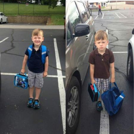 Primer y segundo día de clases / First and second day of school