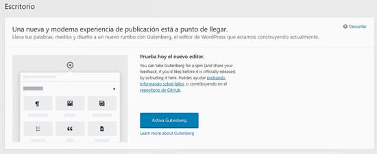 Una nueva y moderna experiencia de publicación está a punto de llegar / A new modern publishing experience is coming soon