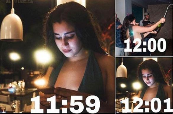Yo en Nochevieja / Me on new year's eve