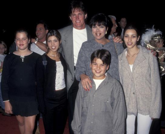 Los Kardashians antes de que descubrieran la cirugía plástica / The Kardashians before they discovered plastic surgery